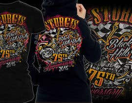 #21 for Design a (((LADIES))) T-Shirt for STURGIS 2015 75th Anniversary af MayonPunx