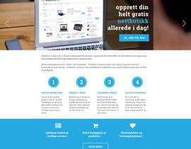 #7 for Design for website (front+subpage) af evileyestudio