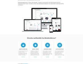 #33 for Design for website (front+subpage) af evileyestudio