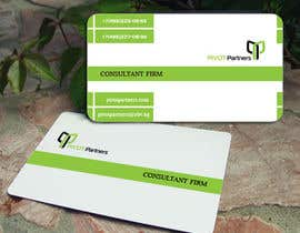 #18 para Consultant Firm Business Card por pironkova
