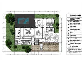 #67 for Floorplan for modern contemporary house by vlangaricas