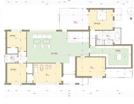 #72 untuk Floorplan for modern contemporary house oleh ArhAndreea