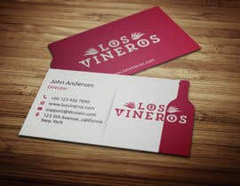 #49 para Design some Business Cards for Los Vineros por anikush