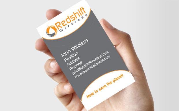 Bài tham dự cuộc thi #                                        32                                      cho                                         Business Card for Redshift Wireless