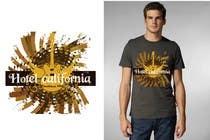 Graphic Design Entri Kontes #67 untuk Vintage T-shirt Design for HOTEL CALIFORNIA