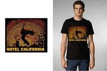 Graphic Design Entri Kontes #69 untuk Vintage T-shirt Design for HOTEL CALIFORNIA