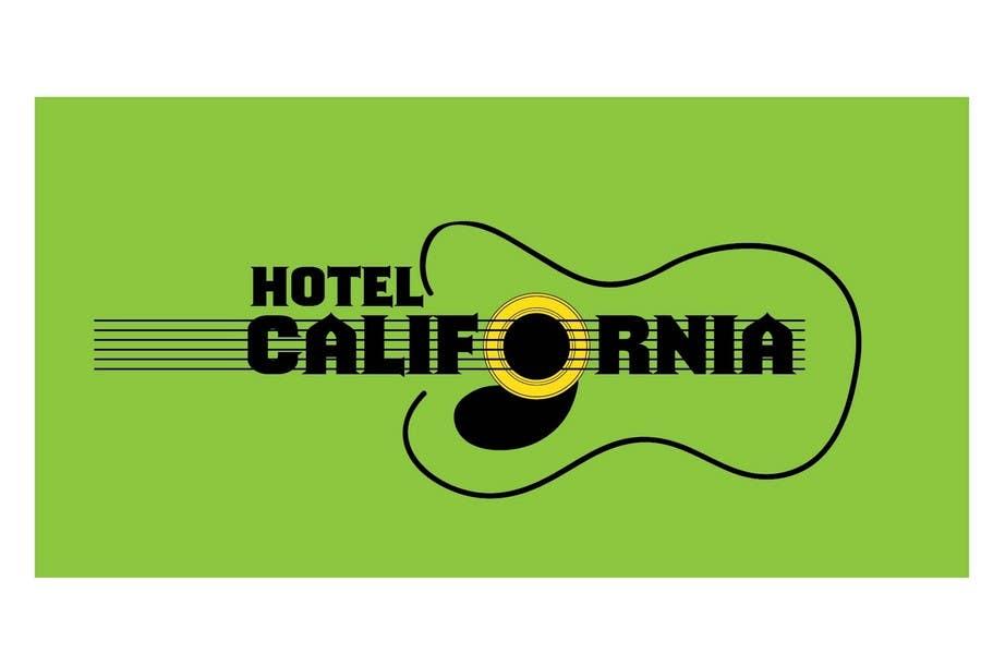 Entri Kontes #                                        86                                      untuk                                        Vintage T-shirt Design for HOTEL CALIFORNIA