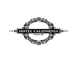 nº 71 pour Vintage T-shirt Design for HOTEL CALIFORNIA par outlinedesign