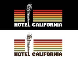 #72 para Vintage T-shirt Design for HOTEL CALIFORNIA de outlinedesign