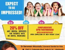 #4 for Design a Flyer for Kids Dentistry by arsh8singhs