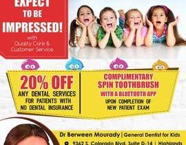 #9 for Design a Flyer for Kids Dentistry af arsh8singhs