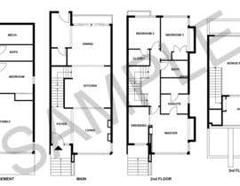 #22 cho Need 4 floorplans from these images bởi john3d