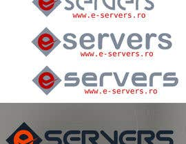 #11 para Design logo for E-Servers.ro por hicherazza