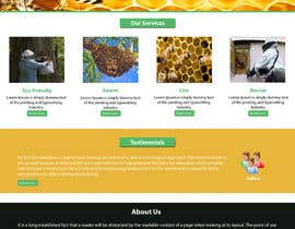 #10 untuk Design a Wordpress Mockup for Eco Bee oleh NSpokhriyal