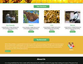#11 untuk Design a Wordpress Mockup for Eco Bee oleh NSpokhriyal