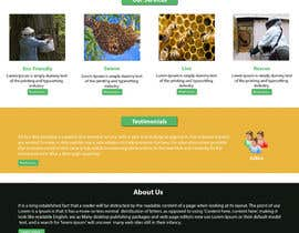 #16 untuk Design a Wordpress Mockup for Eco Bee oleh NSpokhriyal