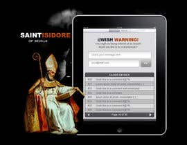 #14 za Graphic Design for One page web site for the Saint Of the Internet: St. Isidore of Seville od mreis1