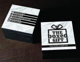 #20 for Design Social Media Business Cards for The boxed Gift af carlostronick