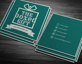 #25 untuk Design Social Media Business Cards for The boxed Gift oleh anikush
