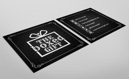 #30 for Design Social Media Business Cards for The boxed Gift af Jayson1982
