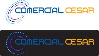 #78 untuk Diseñar un logotipo for COMERCIAL CESAR oleh mizan01727