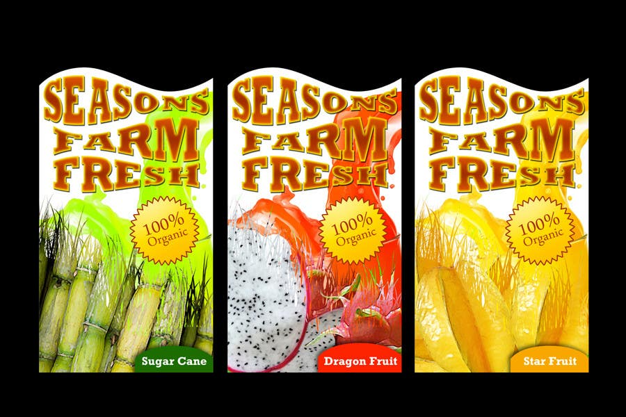 Contest Entry #61 for Graphic Design for Seasons Farm Fresh