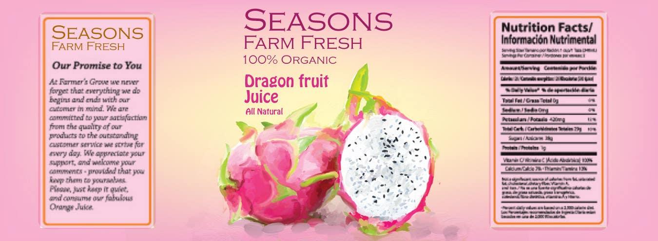 Penyertaan Peraduan #76 untuk Graphic Design for Seasons Farm Fresh