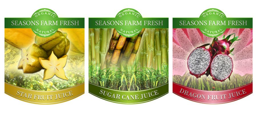 Contest Entry #50 for Graphic Design for Seasons Farm Fresh