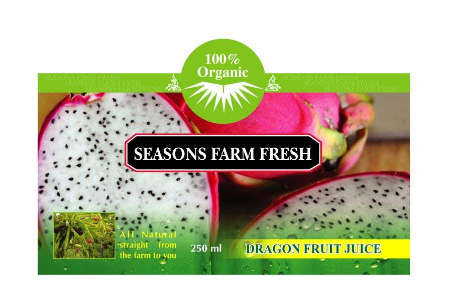 Penyertaan Peraduan #41 untuk Graphic Design for Seasons Farm Fresh