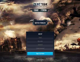 #13 for Design a Website Mockup for RTS Browser Game by tania06