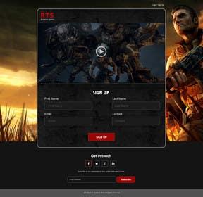 Nro 5 kilpailuun Design a Website Mockup for RTS Browser Game käyttäjältä ankisethiya