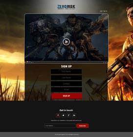 Nro 7 kilpailuun Design a Website Mockup for RTS Browser Game käyttäjältä ankisethiya