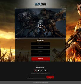 #7 untuk Design a Website Mockup for RTS Browser Game oleh ankisethiya