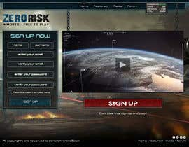 #29 for Design a Website Mockup for RTS Browser Game by arispapapro