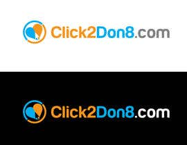 #47 cho Design a Logo for Click2Don8.com bởi kyriene