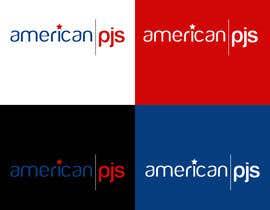 """Nro 3 kilpailuun Design a Logo for a Sleepwear Fashion Company """"AmericanPJs"""" käyttäjältä karanjapaul60"""