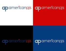 """Nro 43 kilpailuun Design a Logo for a Sleepwear Fashion Company """"AmericanPJs"""" käyttäjältä karanjapaul60"""