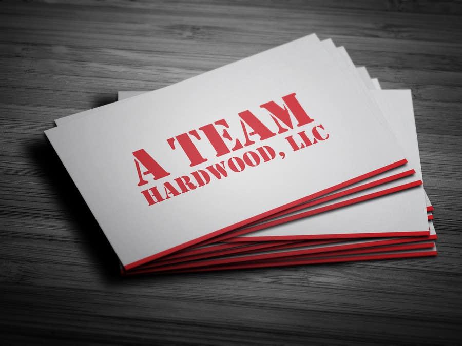 Penyertaan Peraduan #16 untuk Design some Business Cards for A Team Hardwoods