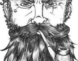 #51 cho Illustrate a tough manly masculine bearded rough FACE bởi Param5