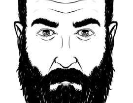 #52 cho Illustrate a tough manly masculine bearded rough FACE bởi marcokap