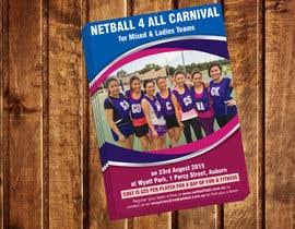 dinesh0805 tarafından Design a Flyer for Netball Carnival için no 9