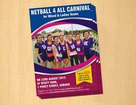#16 cho Design a Flyer for Netball Carnival bởi dinesh0805