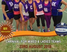 #8 cho Design a Flyer for Netball Carnival bởi imtiazpir