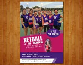 #7 cho Design a Flyer for Netball Carnival bởi raoufnawab