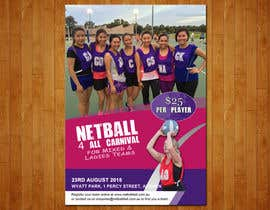 #15 cho Design a Flyer for Netball Carnival bởi raoufnawab