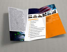 #17 for Design a tri-fold Brochure in MS publisher by jaca027