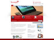 Graphic Design Contest Entry #11 for Wordpress Theme Design for Synergist SCADA INC