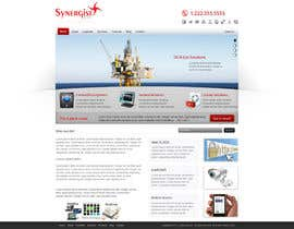 #20 untuk Wordpress Theme Design for Synergist SCADA INC oleh fidakhattak