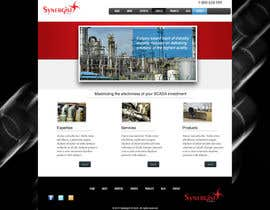 #15 para Wordpress Theme Design for Synergist SCADA INC por zoreli