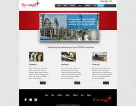 #37 untuk Wordpress Theme Design for Synergist SCADA INC oleh zoreli